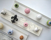 Dorm...Customized Jewelry Rack--Design Your Own 4 Knob Rack - AuntDedesBasement