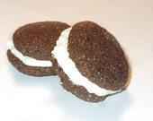 Creamy Cream Cheese Carob Cookie