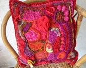 Pandoras Cushion Cover Free Form Crochet Tutorial PDF