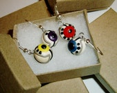 Portal GLaDOS Personality Core Earrings