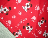 Adorable Valentine Dog Bandana