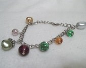 Handcrafted Beaded Charm Bracelet