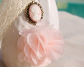 Beautiful soft pink phone charm, Chain for mobile phone - WorldDesigns