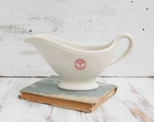 Vintage U.S. ARMY Medical Department Gravy Boat 1930's - redtruckdesigns