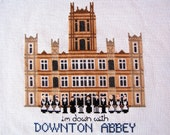 Downton Abbey Cross Stitch Pattern - cottagenestinteriors