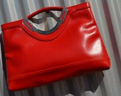 Red Vintage Envelope PUrse