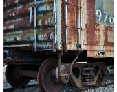 Rusted Railroad Car 8x10 Inch Color Photograph - jnnfrfrnk