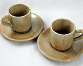 Espresso Cups with Saucers - hopesndreams