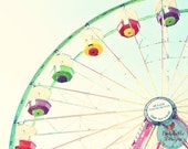 Ferris Wheel Colorful Carnival Dreamy Lomography 8x10 Photograph - BreakebleDesigns