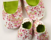 Mom and Baby Slipper Set - Molipop Slippers in White, Berry, Pink, and Lime