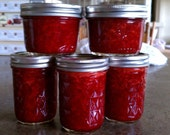 ANY Three Homemade Jams or Jellies- 8oz Jars (Low Sugar)
