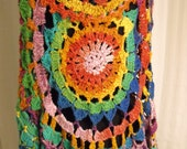 Rainbow Circle Vest, Large - CindyStyles