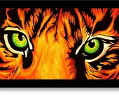 Vibrant Tiger Eyes - 917Creations