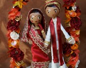 Indian Caketopper with Flower Arch - marmaladetradingco