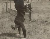 Handstand Vintage Snapshot - BallyDingRevue