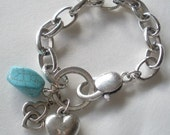 Chained Hearts Bracelet