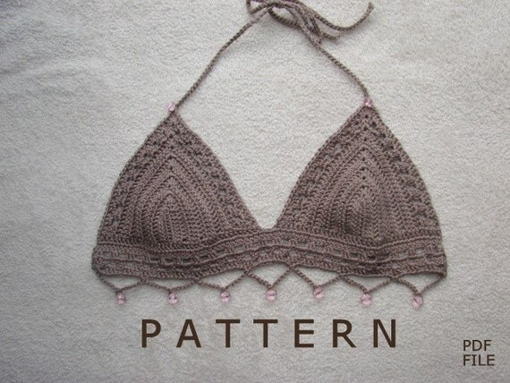 Crochet Bikini Pattern : PATTERN FOR CROCHET BIKINI Crochet For Beginners