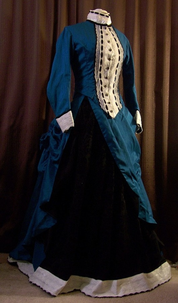 Custom Victorian Dresses  Bustle Gowns  Ball Gowns  Natural Form eraVictorian Bustle Gowns