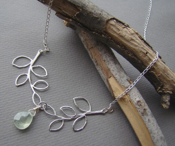 Branching Out  18 inch Sterling Silver Branches by LaDeeDaJewelry