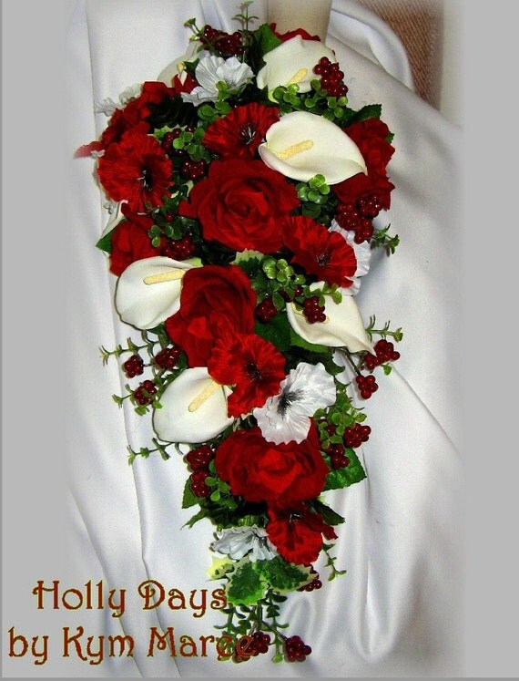HOLLY DAYS Christmas Wedding Flowers From BridalBouquets