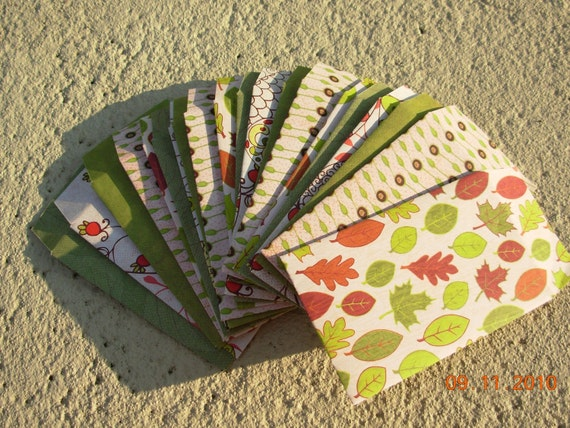20 Business Card Envelope Holder