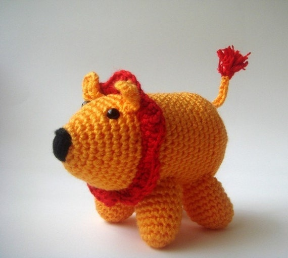 Little Amigurumi Lion : halloween and christmas crafts: amirugumi crochet patterns ...