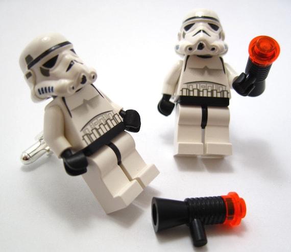 SALE - Star Wars Stormtrooper Lego Minifig Cufflinks