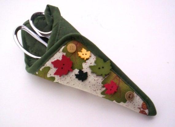 Scissor holder by Jan of Grandma Jan's Corner