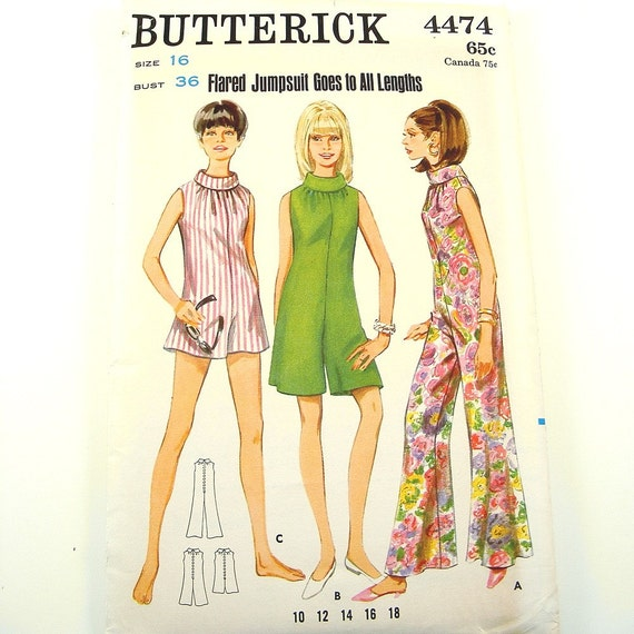 Best Vintage Patterns - $3.50 Patterns 1970s All Factory Folded