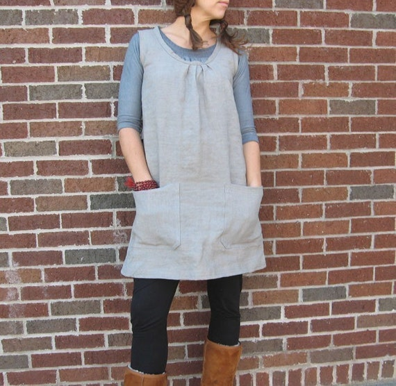 Hemp Linen Pocket Smock