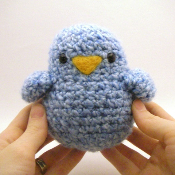 Crochet Pattern - The Fatso (Fat Birdy)