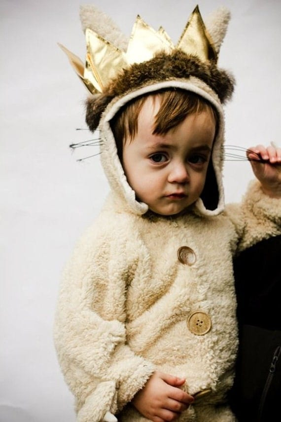 Kids Luxury MAX  ( Size 3T- 5T)   where the wild things are in sherpa
