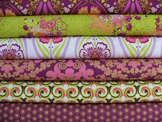 Fuchsia Mademoiselle by Art Gallery Fabrics Fat Quarter