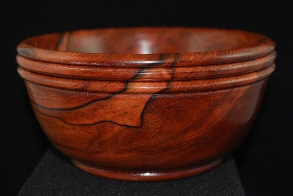 Tineo Wood Bowl, Custom Handmade Wooden Bowl, WB-136