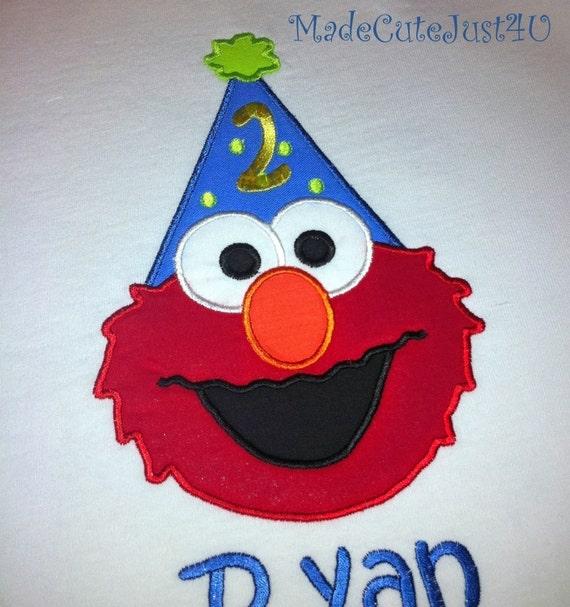2nd Birthday Shirt With Elmo