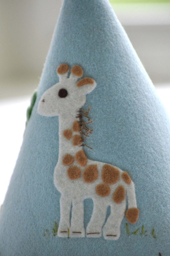 Felt Party Hat - Little Giraffe