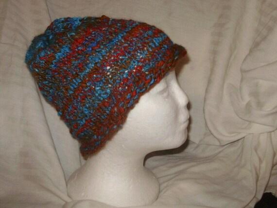 Angora Knit Hat