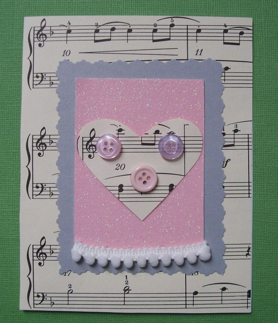 Music of My Heart All Occasion Greeting Card