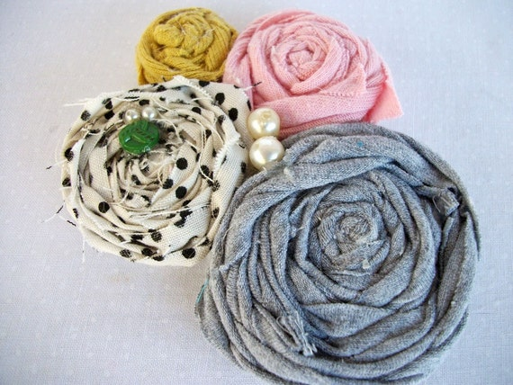 Rosette Statement Pin Brooch