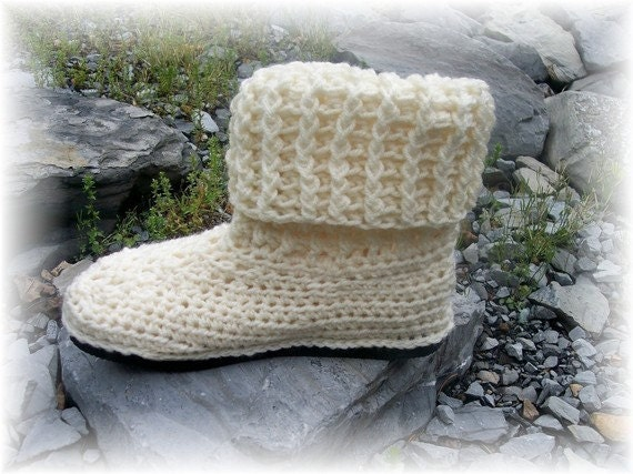 crochet boot pattern on Etsy, a global handmade and vintage
