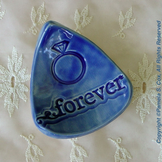 Ring Dish - Forever True Blue