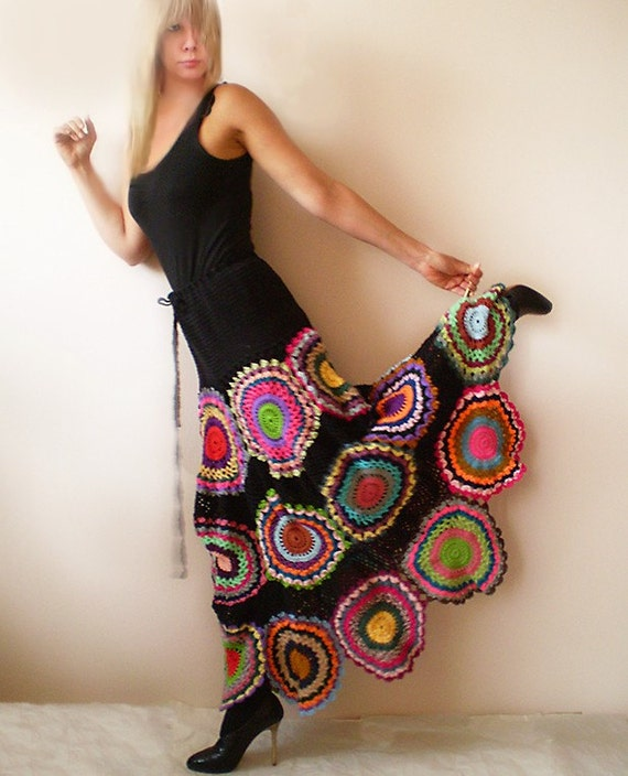 Long Gypsy Circle Skirt - Made to Order