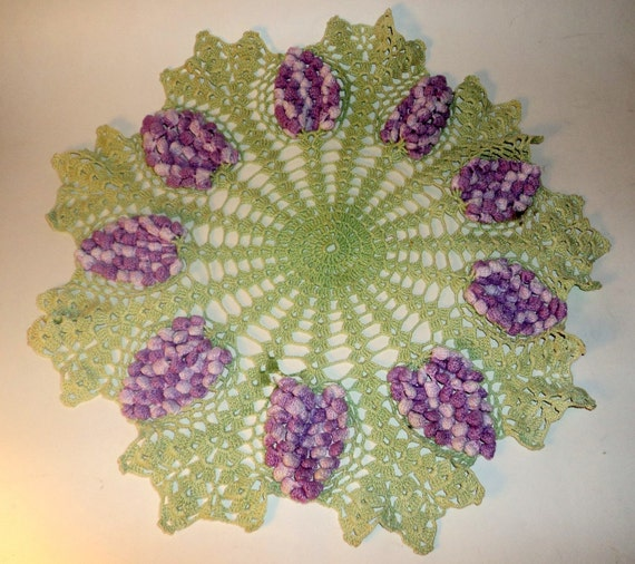 Free Online Printable Crochet Patterns : LARGE CROCHET DOILY ? Crochet For Beginners