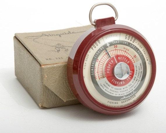 Airguide fishing barometer for Barometer and fishing