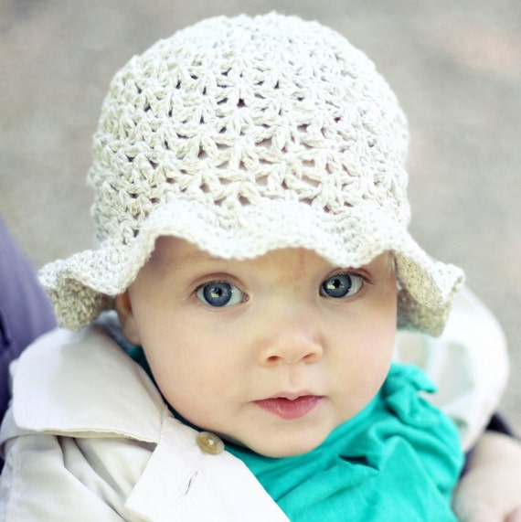 Free Crochet Patterns Baby Swaddlers : CROCHET BABY SUN HAT PATTERN ? Crochet For Beginners
