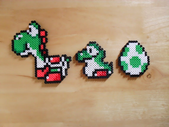3 Magnet Set Yoshi Sprite