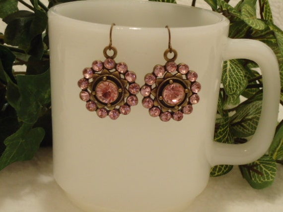Pink Glamorous Earrings