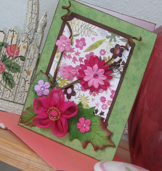 Posies Greeting Card