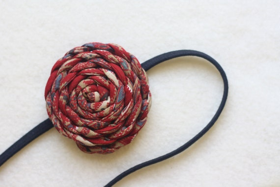 Braided Spiral Headband