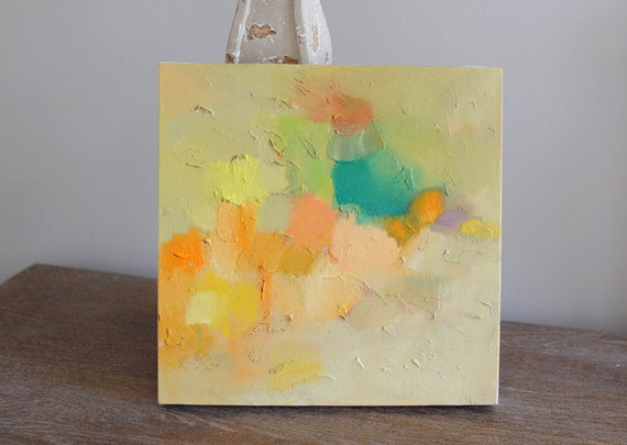 Green House ORIGINAL abstract oil painting